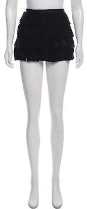 BA&SH Suede Mini Skirt