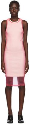 Helmut Lang Pink Masc Tank Dress