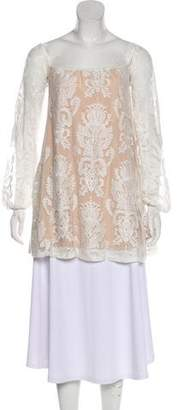 For Love & Lemons Lace Long Sleeve Tunic