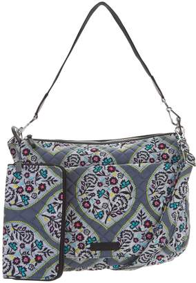 Vera Bradley Signature Carson Shoulder Bag with RFID Zip Wallet