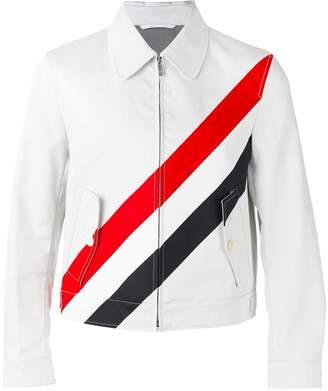 Thom Browne striped shirt jacket