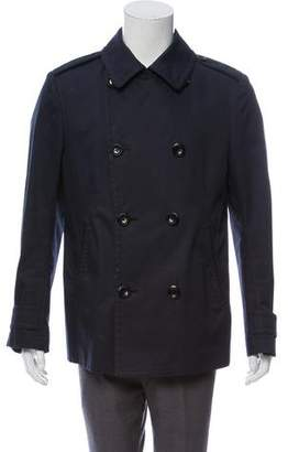 Tom Ford Deconstructed Double-Breasted Peacoat