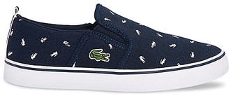 Lacoste Boys' Logo Slip On Sneakers - Toddler, Little Kid $59.95 thestylecure.com