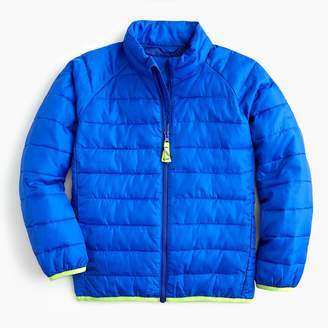 J.Crew Boys' packable quilted jacket with Primaloft®