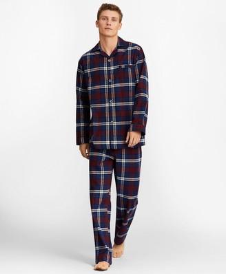 Brooks Brothers Signature Tartan Flannel Pajamas