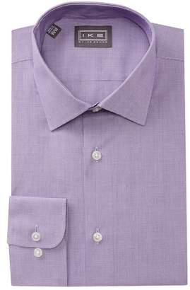 Ike Behar Mini Houndstooth Regular Fit Dress Shirt