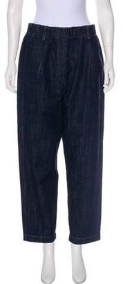 Brunello Cucinelli High-Rise Straight-Leg Jeans w/ Tags