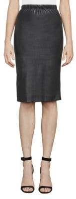 BCBGMAXAZRIA Lyric Faux Leather Pencil Skirt