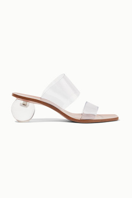 Cult Gaia Jila Vinyl Sandals - Clear