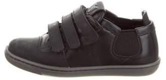 Louis Vuitton Boys' Slalom Leather Low-Top Sneakers grey Boys' Slalom Leather Low-Top Sneakers