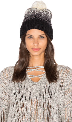 Michael Stars Seeded Ombre Beanie $30 thestylecure.com