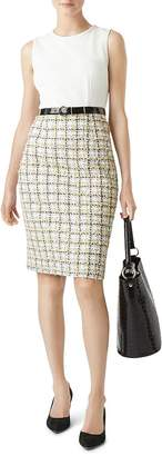 Hobbs London Suri Tweed Detail Sheath Dress