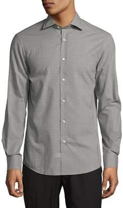 Ralph Lauren Purple Label Men's Aston Long Fit Button-Down Shirt