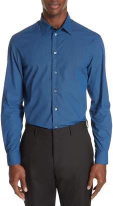 Emporio Armani Regular Fit Geometric Sport Shirt