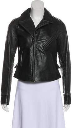 Ralph Lauren Zip-Up Leather Jacket