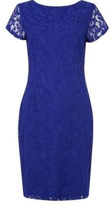 Dorothy Perkins Womens *Roman Originals Royal Blue Lace Dress