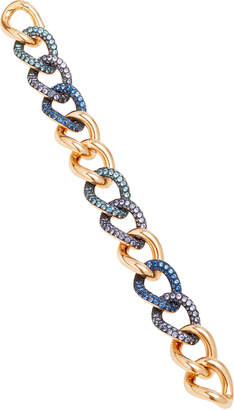 Pomellato Tango Rose Gold 7 Aquamarine And Sapphire Color Change Bracelet