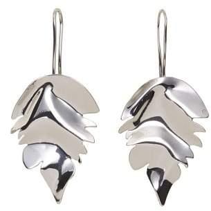 MANGO Leaves pendant earrings