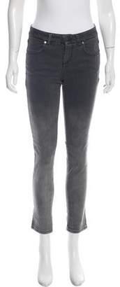 Stella McCartney Cropped Acid Wash Jeans