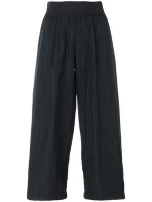 Maria Calderara cropped wide-leg trousers