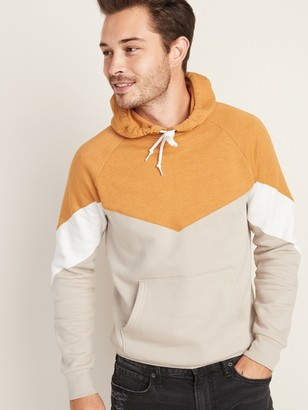 Old Navy Color-Blocked Pullover Hoodie for Men