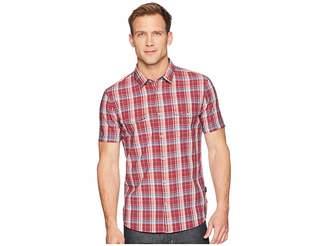 John Varvatos Short Sleeve Shirt with Chest Pockets W519U1B Men's Clothing