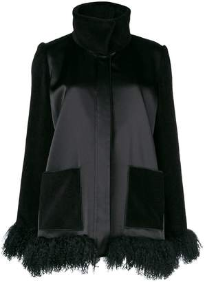 Gianluca Capannolo furry hem jacket
