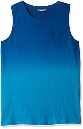 ROBUST Men's Sleeveless Ombre Dyed Vest (Size-)