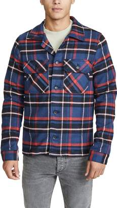 Naked & Famous Denim Heavyweight Flannel Workshirt