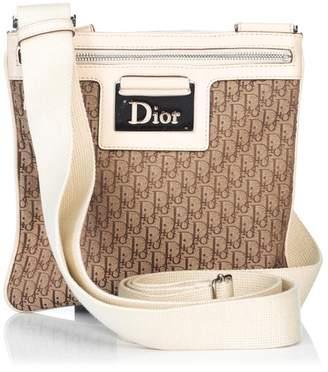 Christian Dior Vintage Oblique Jacquard Crossbody Bag