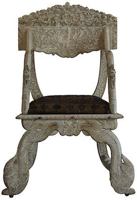 One Kings Lane Vintage Antique Asian Chair