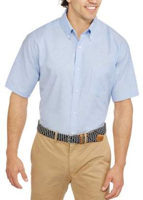 George Men's Short Sleeve Oxford Shirt