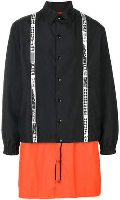 Facetasm panelled coat