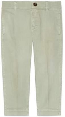Gucci Children's stretch cotton pant