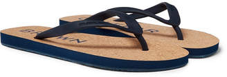 Orlebar Brown Haston Rubber And Cork Flip Flops