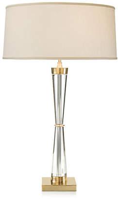 John-Richard Collection Crystal Corset Buffet Lamp - Brass