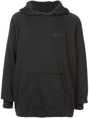 R 13 classic plain hoodie