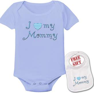 Bazooka I Love My Mommy Funny Onesie Cute Baby Shower Gift Infant Bodysuit