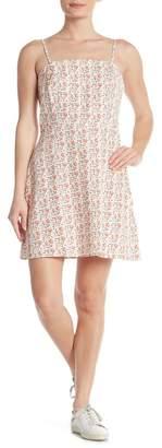 Cotton On Krissy Linen Blend Floral Dress