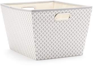 Sonoma Goods For Life SONOMA Goods for Life Gray Ikat Storage Tote