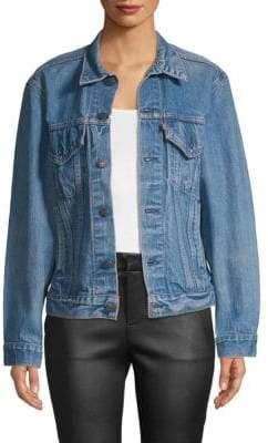 Elizabeth and James Abbey Vintage Jean Jacket