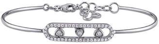 Diamond Select Cuts 18K 0.25 Ct. Tw. Diamond Bangle
