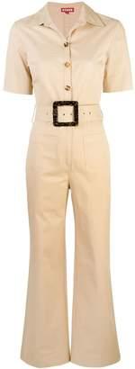STAUD short-sleeved jumpsuit