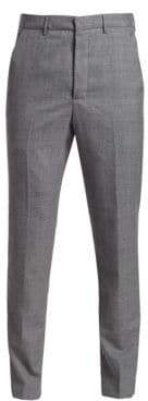 Ami Front-Pleat Wool Trousers
