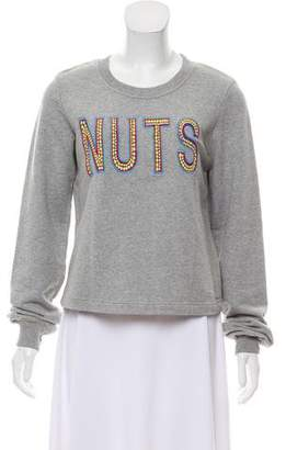 Markus Lupfer Embroidered Long Sleeve Sweatshirt