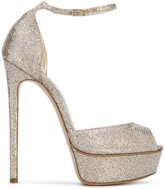 Casadei platform ankle sandals