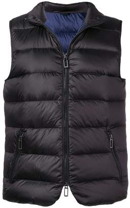 Paoloni quilted gilet