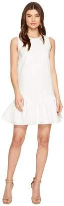 Maggy London Circle Cut Out Back Drop-Waist Dress Women's Dress