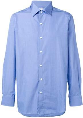 83f0a91033 Finamore 1925 Napoli classic plain shirt