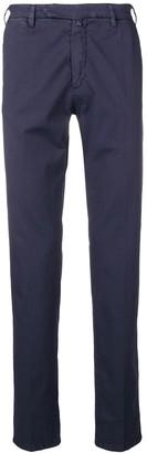 Borrelli mid rise chino trousers